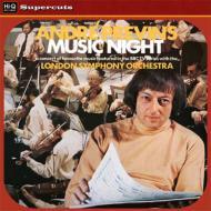 『アンドレ・プレヴィンのミュージック・ナイト』 ロンドン交響楽団 (180グラム重量盤レコード/Hi-Q Records Supercuts)
