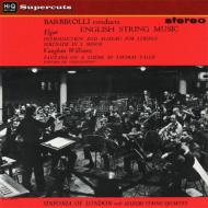 序奏とアレグロ(エルガー)、他:ジョン・バルビローリ指揮&シンフォニア・オブ・ロンドン (180グラム重量盤レコード/Hi-Q Records Supercuts)