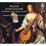 2挺のヴィオールのためのコンセール集 サヴァール、W.クイケン(2SACD)