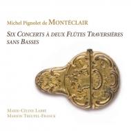 2本のフラウト・トラヴェルソのための6つのコンセール マリー=セリーヌ・ラッベ、マリオン・トロイペル=フランク(2CD)