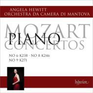 ピアノ協奏曲第6番、第8番、第9番 ヒューイット、マントヴァ室内管弦楽団