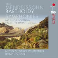 交響曲第3番『スコットランド』、第4番『イタリア』 ホリガー&ヴィンタートゥール・ムジークコレギウム