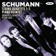 弦楽四重奏曲第1番、第2番、第3番、ピアノ五重奏曲 グリンゴルツ・クァルテット、ラウル(2CD)