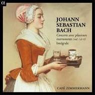 さまざまな楽器による協奏曲集第1〜6集 カフェ・ツィマーマン(日本語解説付 6CD)