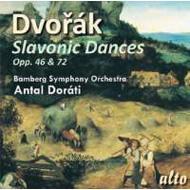 Slavonic Dances: Dorati / Bamberg So