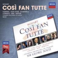 『コジ・ファン・トゥッテ』全曲 ショルティ&ヨーロッパ室内管弦楽団、フレミング、オッター、他(1994 ステレオ)(3CD)