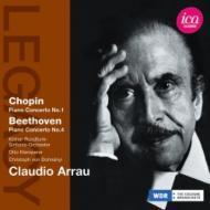 ショパン:ピアノ協奏曲第1番、べートーヴェン:ピアノ協奏曲第4番 アラウ、クレンペラー、ドホナーニ、ケルン放送響(1954、59)