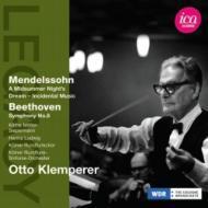メンデルスゾーン:真夏の夜の夢、ベートーヴェン:交響曲第8番 クレンペラー&ケルン放送交響楽団(1955)