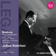 ブラームス:ピアノ協奏曲第1番、ショパン:バラード第3番、リスト:メフィスト・ワルツ第1番、他 カッチェン、ケンペ&BBC響