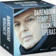 ワーグナー・オペラ録音全集 バレンボイム&シュターツカペレ・ベルリン、バイロイト祝祭管、ベルリン・フィル(34CD)