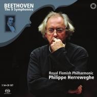 交響曲全集 フィリップ・ヘレヴェッヘ&ロイヤル・フランダース・フィル、コレギウム・ヴォカーレ、他(5SACD)
