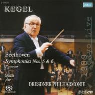 ベートーヴェン:交響曲第5番、第6番、バッハ:G線上のアリア、他 ケーゲル&ドレスデン・フィル(1989年東京ライヴ)(シングルレイヤー)(限定盤)