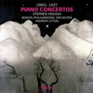 リスト:ピアノ協奏曲第1番、第2番、グリーグ:ピアノ協奏曲 ハフ、リットン&ベルゲン・フィル