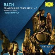 ブランデンブルク協奏曲第1番、第2番、第3番、管弦楽組曲第3番 ピノック&イングリッシュ・コンサート