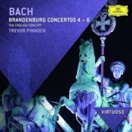 ブランデンブルク協奏曲第4番、第5番、第6番、管弦楽組曲第2番 ピノック&イングリッシュ・コンサート