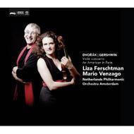 Violin Concerto: Ferschtman(Vn)Venzago / Netherlands Po +gershwin: An American In Paris