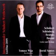 Internationaler Schubert-wettbewerb Lied Duo 2009: Wija(B-br)D.santos(P)