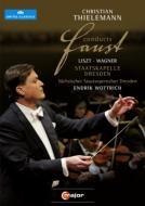 リスト(1811-1886)/Faust Symphony: Thielemann / Skd & Cho Wottrich(T) +wagner: Faust Overture