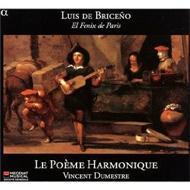 ブリセーニョ〜1626年の曲集とバロックギター、スペイン語による歌曲さまざま ヴァンサン・デュメストル、ル・ポエム・アルモニーク