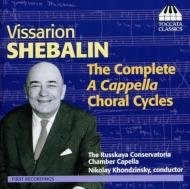 Comp.a Cappella Choral Cycles: Khondzinsky / Russian Conservatory Chamber Cho