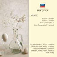 管楽器のための協奏曲集 ド・ペイエ、エラール、C.モントゥー、タックウェル、コリンズ&ロンドン響、他