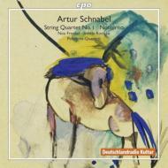 弦楽四重奏曲第1番、アルトとピアノのための『夜想曲』 ペレグリーニ四重奏団、フレンケル、レルッケ