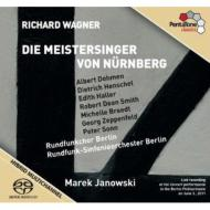 『ニュルンベルクのマイスタージンガー』全曲 ヤノフスキ&ベルリン放送響、ドーメン、D.ヘンシェル、他(2011 ステレオ)(4SACD)
