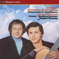 アランフェス協奏曲、ある貴紳のための幻想曲 アンヘル・ロメロ、アンドレ・プレヴィン&ロンドン響 (180グラム重量盤レコード/Hi-Q Records Supercuts)