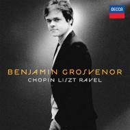 ショパン:ピアノ曲集、リスト:夜想曲『夢の中に』、ラヴェル:夜のガスパール ベンジャミン・グロヴナー