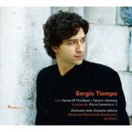 チャイコフスキー:ピアノ協奏曲第1番、リスト:死の舞踏、ペトラルカのソネット ティエンポ、ラヴィノヴィチ、I.マリン、スイス・イタリア語放送管