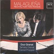 Malaguena-recital For 2 Pianos: Duo Granat