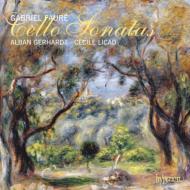 チェロ・ソナタ第1番、第2番、シシリエンヌ、エレジー、蝶々、他 ゲルハルト、リカド