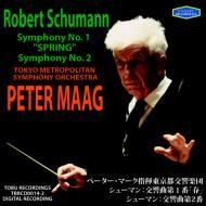 交響曲第1番『春』、第2番 マーク&東京都交響楽団(1993、1990)
