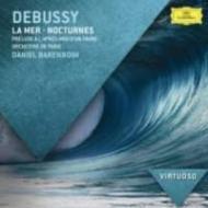 交響詩『海』、牧神の午後への前奏曲、夜想曲 バレンボイム&パリ管弦楽団