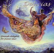 Delicias-spanish Delights For Piano Duo: Goldstone & Clemmow