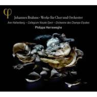 アルト・ラプソディ、運命の歌、葬送の歌、他 ヘレヴェッヘ&シャンゼリゼ管、コレギウム・ヴォカーレ・ヘント、ハレンベルク