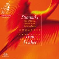『春の祭典』、『火の鳥』組曲、ロシア風スケルツォ、タンゴ I.フィッシャー&ブダペスト祝祭管弦楽団