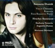 Violin Concerto: Avanesyan(Vn)Dumay / Sinfonia Varsovia +romantic Pieces