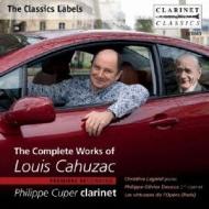 Comp.works: Cuper(Cl)Lagniel(P)Devaux / Les Virtuoses De L'opera Paris