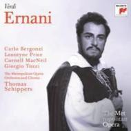『エルナーニ』全曲 シッパース&メトロポリタン歌劇場、ベルゴンツィ、L.プライス、他(1962 モノラル)(2CD)