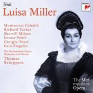 『ルイーザ・ミラー』全曲 シッパース&メトロポリタン歌劇場、カバリエ、タッカー、ミルンズ、他(1968 モノラル)(2CD)