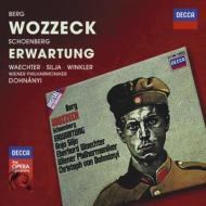 ベルク:『ヴォツェック』全曲、シェーンベルク:『期待』 ドホナーニ&ウィーン・フィル、ヴェヒター、シリア、他(1979 ステレオ)(2CD)