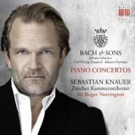 ピアノ協奏曲第1番、第2番、他 クナウアー、ノリントン&チューリヒ室内管弦楽団