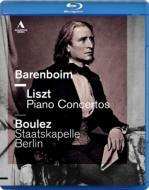 リスト:ピアノ協奏曲第1番、第2番、ワーグナー:序曲『ファウスト』、ジークフリート牧歌 バレンボイム、ブーレーズ&シュターツカペレ・ベルリ