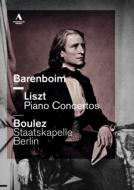 リスト:ピアノ協奏曲第1番、第2番、ワーグナー:序曲『ファウスト』、ジークフリート牧歌 バレンボイム、ブーレーズ&シュターツカペレ・ベルリン