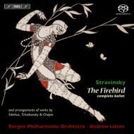 『火の鳥』全曲、編曲集(チャイコフスキー、シベリウス、ショパン) リットン&ベルゲン・フィル