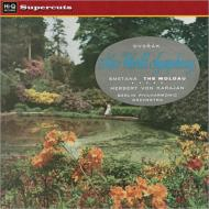 交響曲第9番(ドヴォルザーク)、モルダウ(スメタナ):カラヤン指揮&ベルリン・フィルハーモニー管弦楽団 (180グラム重量盤レコード/Hi-Q Records Supercuts)
