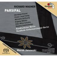 『パルジファル』全曲 ヤノフスキ&ベルリン放送響、ゼーリヒ、エルスナー、他(2011 ステレオ)(4SACD)