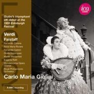 『ファルスタッフ』全曲 ジュリーニ&ロイヤル・フィル、コレナ、オンシーナ、他(1955 モノラル)(2CD)