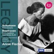 シューマン:ピアノ協奏曲、ベートーヴェン:ピアノ・ソナタ第30番、エロイカ変奏曲とフーガ アニー・フィッシャー、カイルベルト&ケルン放送響(1957、58)